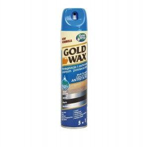 PREPARAT DO PIELĘG MEBLI GOLD WAX SPRAY 300 ml